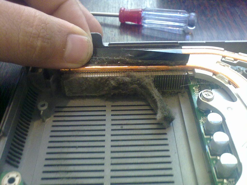 Запрашен охладител на лаптоп
