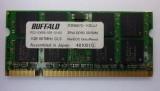 Комплект 2 броя памети за лаптоп Buffalo DDR2-667 x 1GB