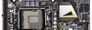 Дънна платка AsRock Z77E-ITX