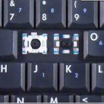 Счупен (изваден) клавиш на лаптоп