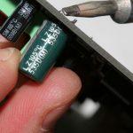 Остраняване на повреден кондензатор