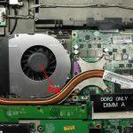 Охладителна система на лаптоп