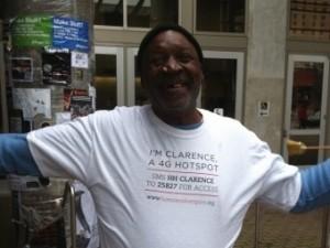 Clarence - I'm a hotspot